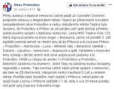 zdroj: FB obce Proboštov
