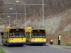 28Tr #216 objíždí odstavený vůz #217 - Pražská ulice - foto: © MHDTeplice.cz - 31. 3. 2014