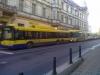 Trolejbusy po výpaku napájení na Beneš. nám. Směrem centrum a Trnovany.- ©MHDTeplice.cz
