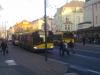 Odstavené trolejbusy u hotelu De Saxe. Výpadek napájení.-- ©MHDTeplice.cz