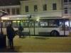 Škoda 14TrM #159- odstavená po mírné nehodě na Benešově nám. Stála zde ještě v 17 hodin.- ©MHDTeplice.cz
