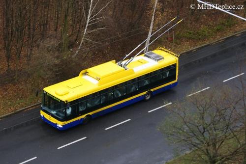 Škoda 30Tr SOR (ev. č. 178) - zkušební jízda - Nová Ves 29. 11. 2013 - foto © : J. Grill, MHDTeplice.cz - 2013
