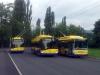 27. 6. 2013 - Škoda 26Tr ev.č. 177 projíždí jako linka 3 mimořádně točnou Anger, kam se dostala během objezdu při převrácení kamionu na Masarykově třídě v Trnovanech | Zaslal: CITYBUS