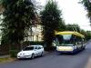 Škoda 25TrBT #212, projíždí Heydukovou ulicí na lince 1, která v této lokalitě posílila linku 12. Datum vyfocení: 3.9.2013 - Zaslal: CITYBUS