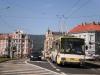 5. 6. 2013 - Na rušné křižovatce ulic Dubská, Rokycanova a Alejní byla zachycena Škoda 14TrM17/6 ev.č. 163, vypravená na linku 10 na Novou Ves | Zaslal: CITYBUS