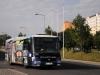12. 6. 2013 - Z bílinského autobusového nádraží odjíždí Sor BN10.5 ev.č. 448 na jednom z večerních spojů linky 1 | Zaslal: CITYBUS