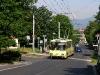 © Petr Beránek / 6.6.2010- Trolejbus Škoda 15Tr, ev.č. 211, linka 10, na železničním přejezdu v Bílinské ulici, ve směru Nová Ves.