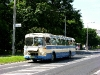 © Petr Beránek / 6.6.2010- Autobus Karosa ŠL 11.1310, ev.č. 57, HISTORICKÁ linka 40, vyjíždí ze stanice Zámecká zahrada. Otevřeným krytem vůz chladí přehřívající se motor.