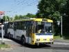 © J. Grill MHDTeplice.cz / 5.6.2010- Trolejbus Škoda 15Tr, ev.č. 209, linka 10, na železničním přejezdu v Bílinské ulici, ve směru Nová Ves.