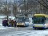 14TrM #159 jako Mikulášský trolejbus 2013. Teplice - Anger - 7. 12. 2013. © FOTO: Petr Beránek