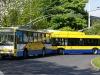 14TrM #164 a 26Tr #17? - odpočívají na šanovské Panoramě. © J. Grill - MHDTeplice.cz