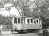 27. 9. 1953 na Masarykově třídě stojí motorový vůz č. 50 | www.telma.unas.cz