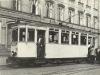 4. 6. 1936 motorový vůz č. 13 ve výhybně před průmyslovou školou na Školním (Benešově) náměstí | www.telma.unas.cz