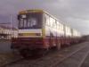 Vyřazené trolejbusy 15Tr (#201 a #202- na snímcích). Později k nim byl naložen i vůz #203. Všechny mají namířeno do Zlineru. | © Jakub Grill
