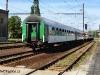 Rychlík 609- Svatava opouští stanici Teplice v Čechách.