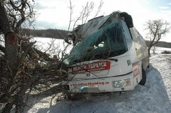 Nehoda Hrob - Leden 2010