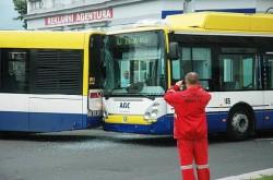 Dopravní nehoda v ulici Rokycanova | © Teplický Deník