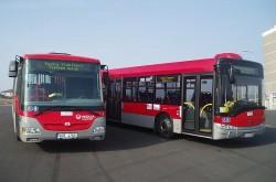 Nové autobusy SOR a Solaris, foceno nedaleko zastávky Teplice, Novoveská. | © Veolia Transport
