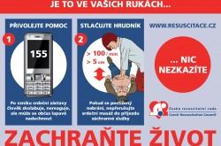 Česká resuscitační rada - leták