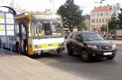 ev. č. 161 - 31. 7. 2012 - nehoda na Benešově náměstí | © Petr Bohatý