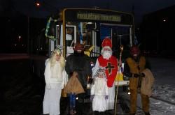 14TrM #159 jako Mikulášský trolejbus 2013. Teplice - Šanov II - 7. 12. 2013. © MHDTeplice.cz