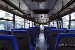 interiér vozu Karosa C954 - ilustrační foto - © Jakub Grill - MHDTeplice.cz